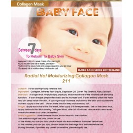 BABY FACE Clarify Whitening Cherry Mask 車厘子嫩白美肌面膜