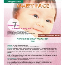 BABY FACE Acne Smooth Kiwi Fruit Mask 奇異果平滑去暗瘡面膜
